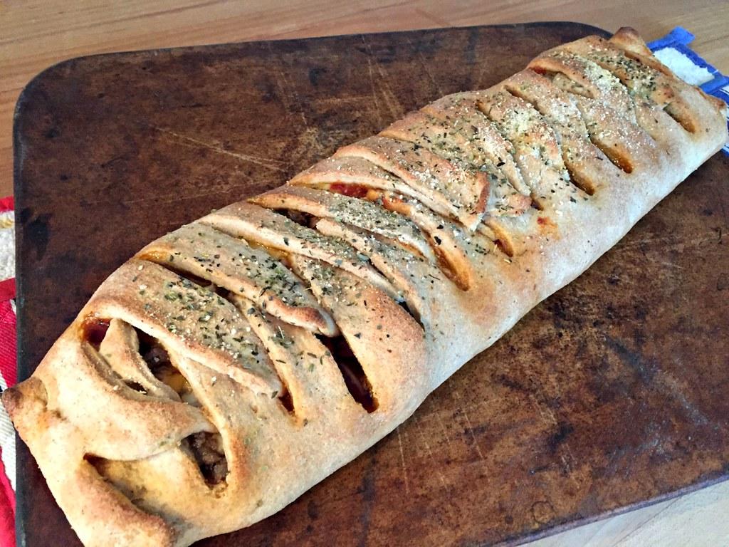whole grain Stromboli