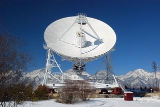 Badary radiotelescope astronomique projet quasar, vallée de la Tounka, Bouriatie  © Bernard Grua | by Photos de voyages, d'expéditions et de reportages