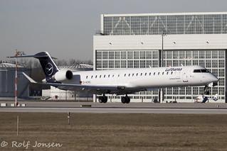 D-ACNC Bombardier CRJ-900 Lufthansa Cityline Munich airport EDDM 17.02-19 | by rjonsen
