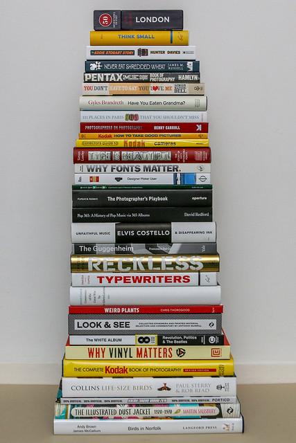 book pile 2018
