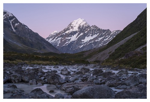 ryan payne hooker valley mount cook new zealand southisland landscapephotography
