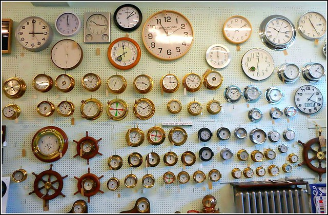 Clocks Galore ..