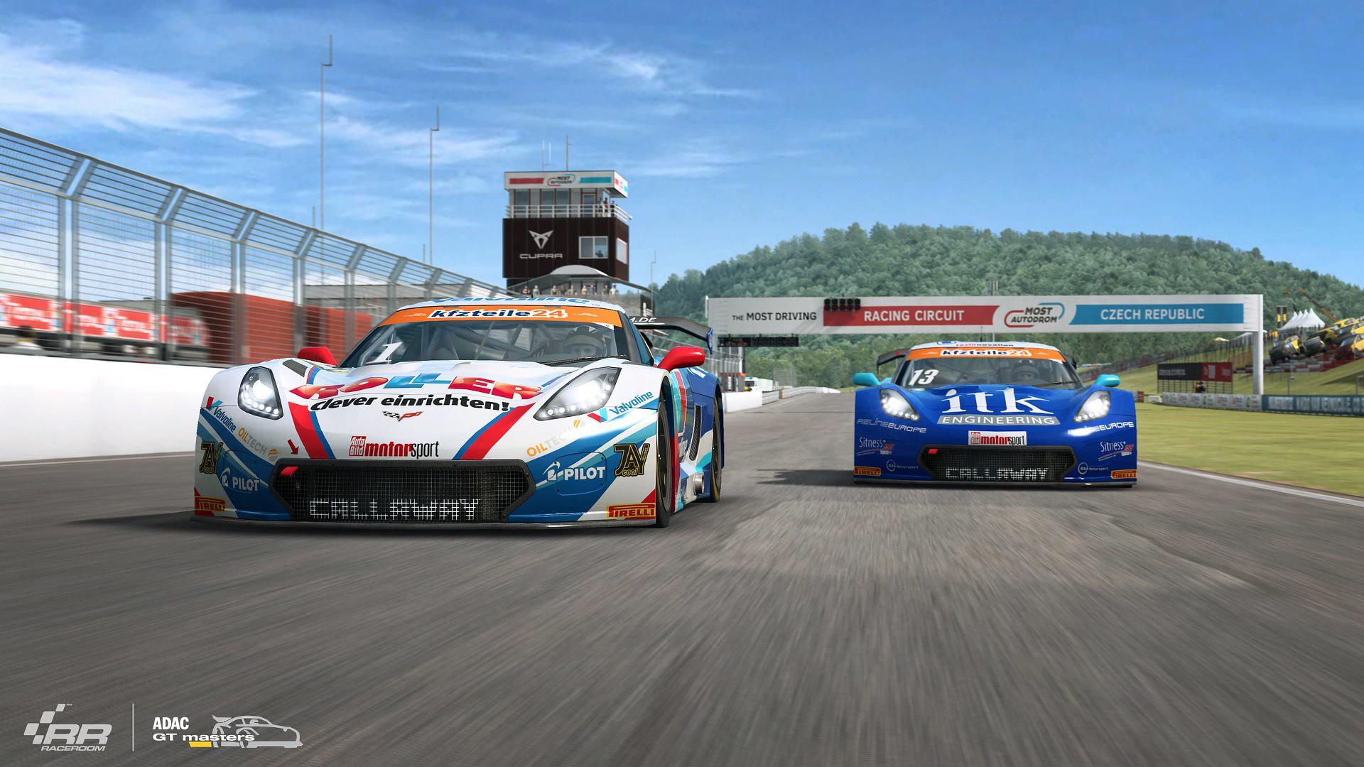 RaceRoom Corvette C7 GT3-R 1