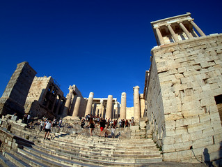 Entrance to the Acropolis
