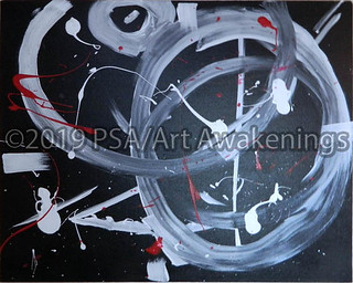 ''Life'' by Heather S, acrylic, $30.00 | by Art Awakenings