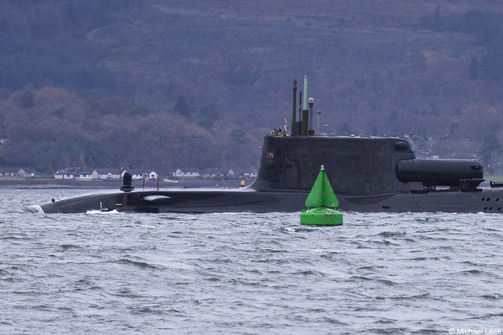 Royal Navy nuclear attack submarine HMS Artful, S121 (SSN