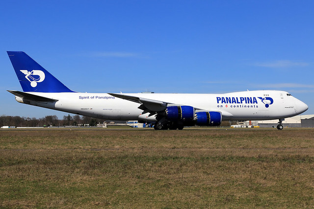Panalpina (Atlas Air)  Boeing 747-87U(F) N850GT