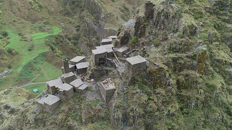 Fortified Village of Mutso, Georgia