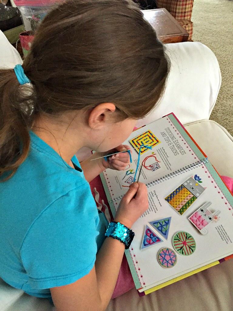 cross stitch for kids