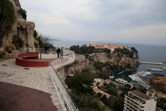 View from Monaco Exotic Gardens