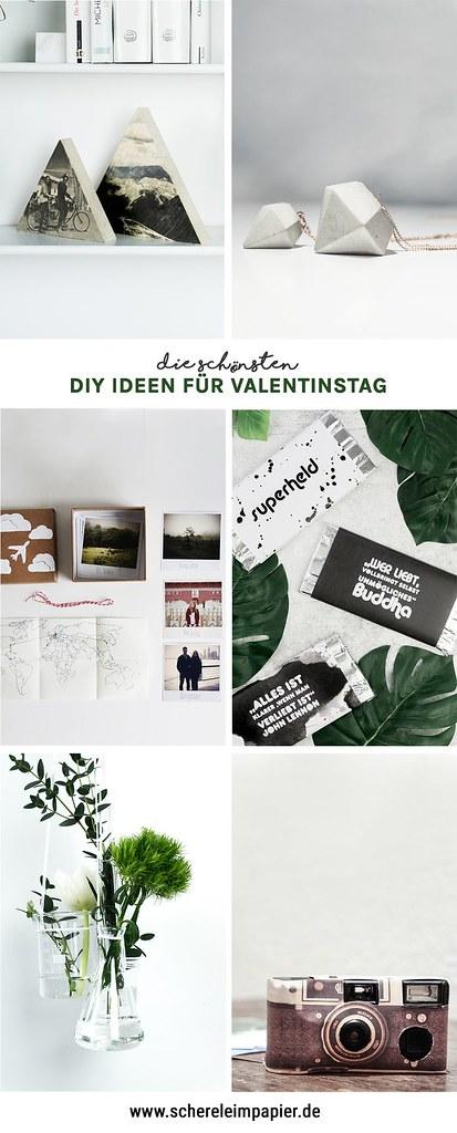 Valentinstag Geschenke selber machen - DIY Ideen für die Liebe