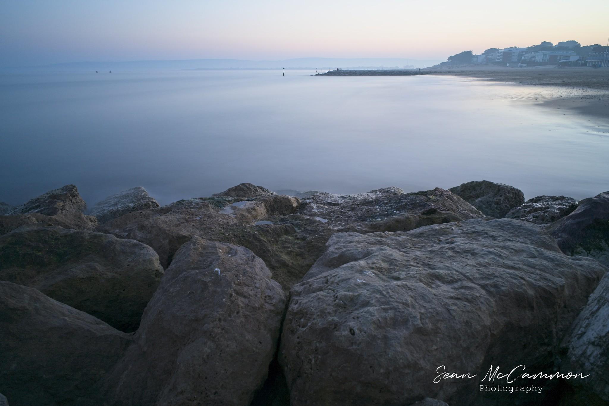Sandbanks Sea and Rocks