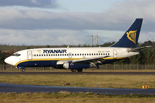 Boeing 737-2T5 EI-CON Ryanair