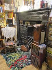Inside Scriveners bookshop