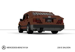 Mercedes-Benz W124 230 E Saloon   by lego911
