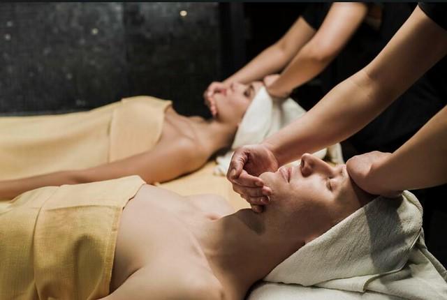 The Organic Spa masaje facial en pareja