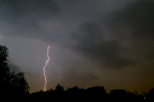 Stormy Sunday night