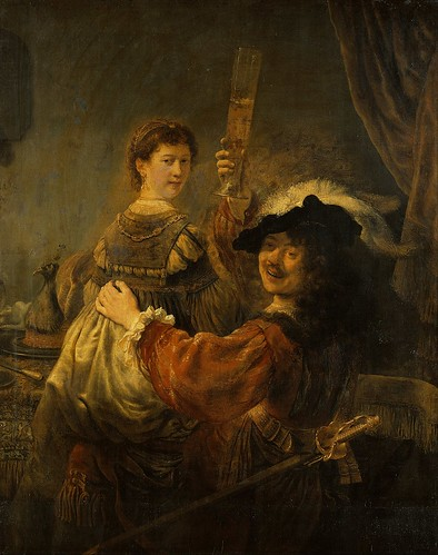 Rembrandt_-_Rembrandt_and_Saskia_in_the_Scene_of_the_Prodigal_Son | by jbrookston
