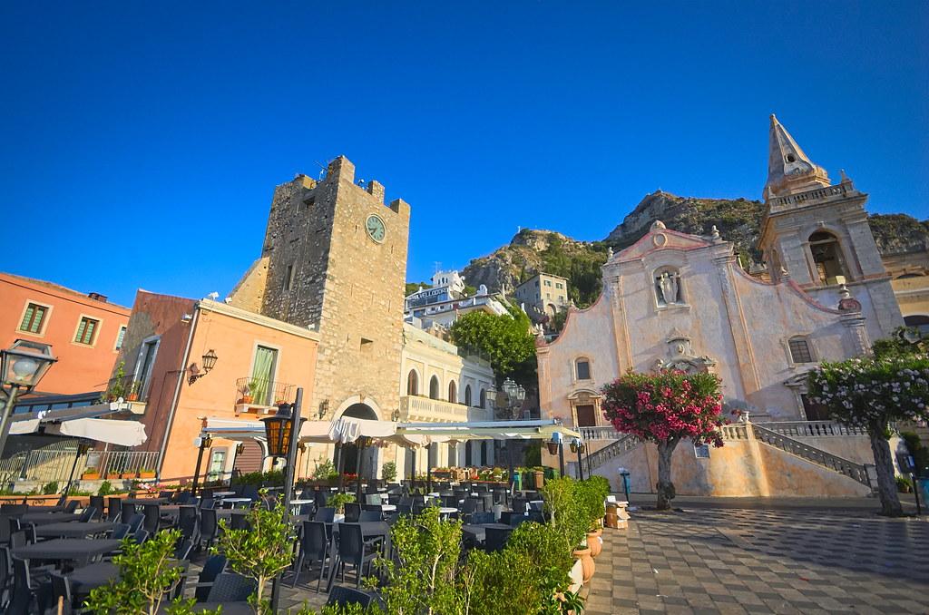 Italia, Sicilia, Taormina,