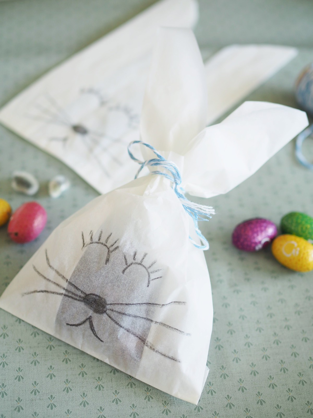 pupupussi-pääsiäismunille