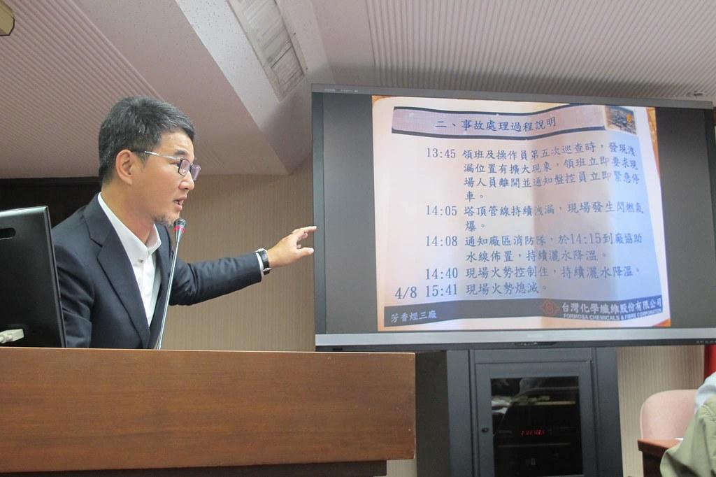 立法委員劉建國質問,還需要多少時間才能完成汰換。圖片來源:劉建國臉書。
