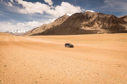 Flatlands near Tso Moriri | by Trekpedition.Com