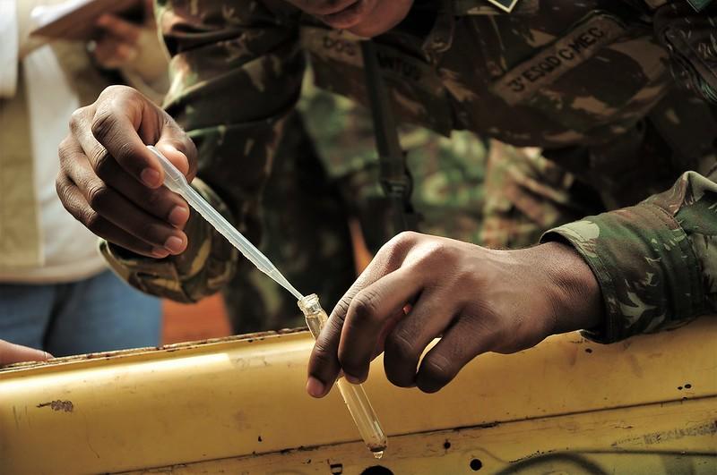 Exército reforça combate ao Aedes aegypti no DF