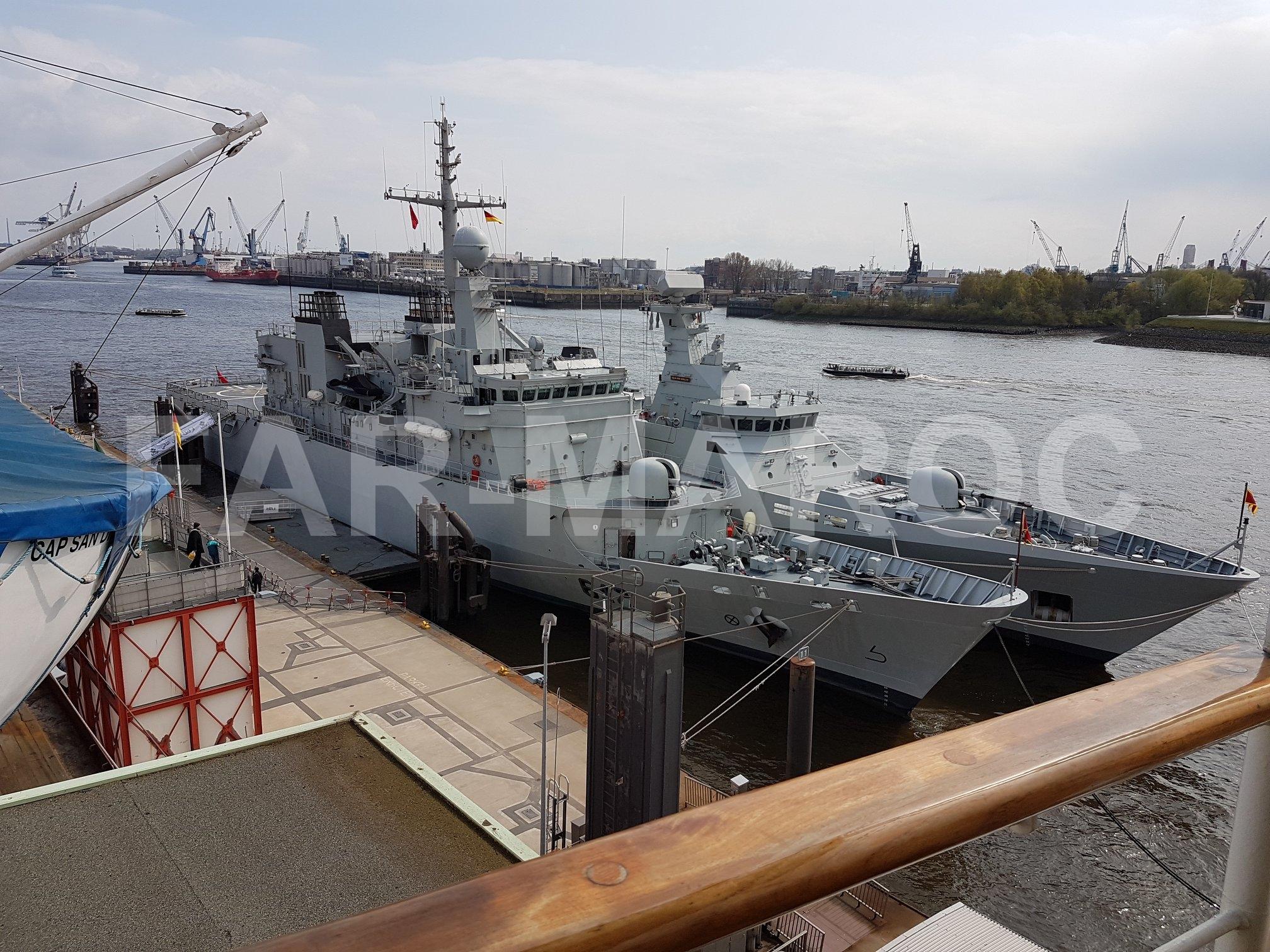 Royal Moroccan Navy Floréal Frigates / Frégates Floréal Marocaines - Page 14 32657365637_16ec19c304_o