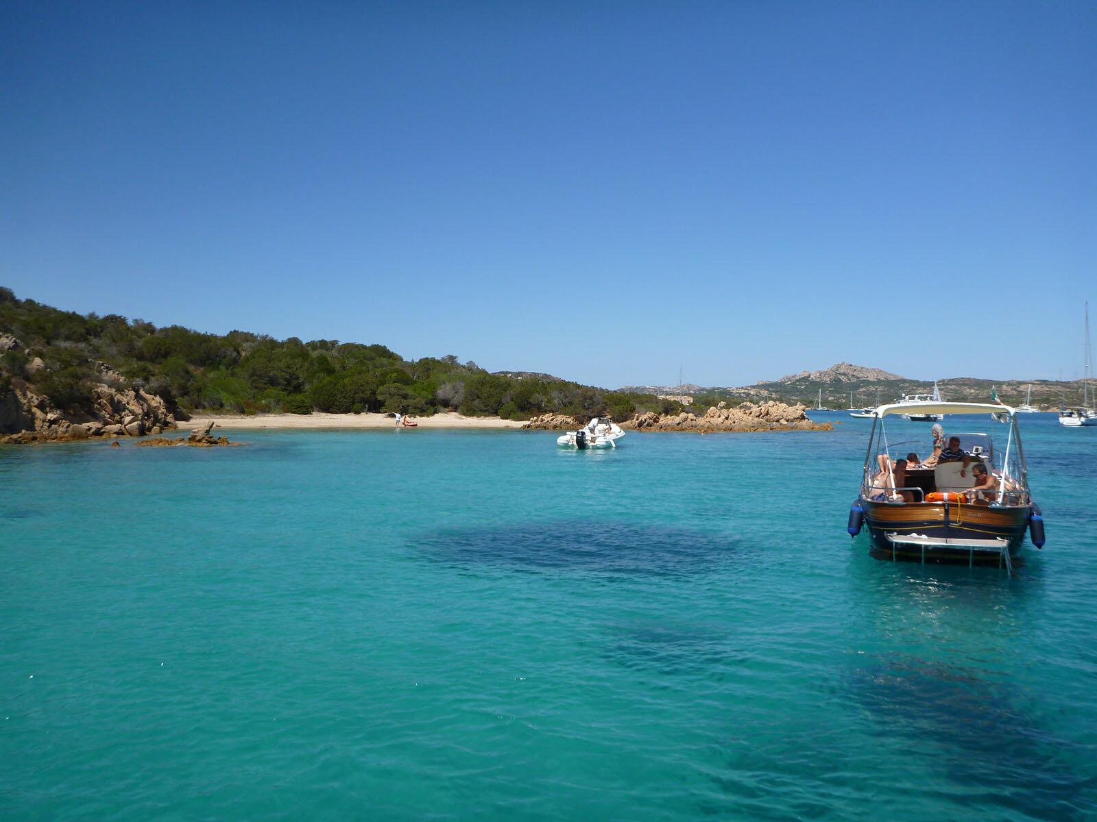 Small Island near Sardinia