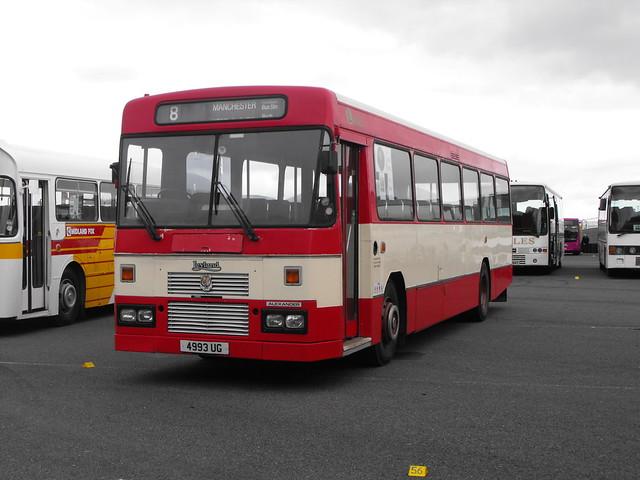341, 4993 UG, Leyland Tiger, Alexander Body (DP53F), 1984 (t.2018)