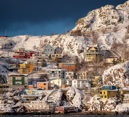 stjohns newfoundland thebattery snow canada jellybeanhouse sunset winter eastcoast nfld therock sony ilce7rm3 24105 sel24105g explored