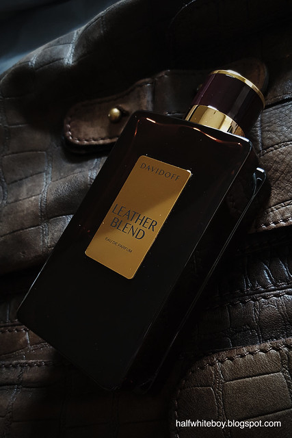 Fragrance Leather Blend Edp By Davidoff Straight Up Leather With