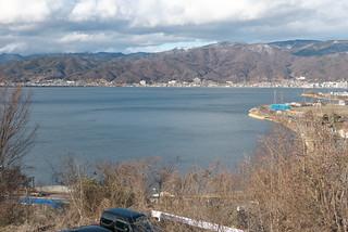 諏訪湖サービスエリア(上り) 展望ウッドデッキ | by Tokutomi Masaki