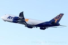 N854GT Atlas Air B747-8 Amsterdam