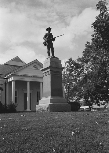 Guarding The Court House | by P F McFarland