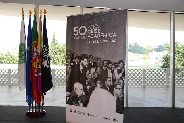 Apresentação do programa de comemorações dos 50 anos da Crise Académica