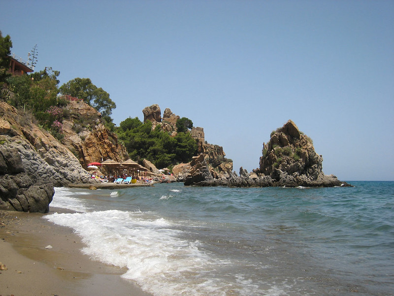 beach near Cefalú, Sicily
