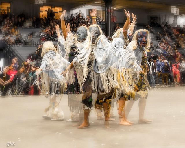 Dancers- multiple exposure.