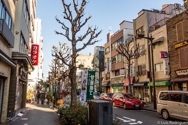 Tiendas y locales de Amazake Yokocho