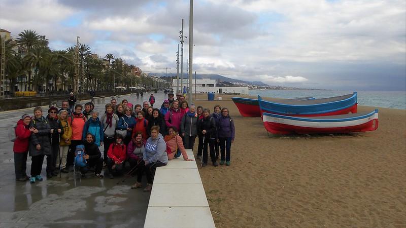 St Adrià, Badalona i Montgat pel litoral