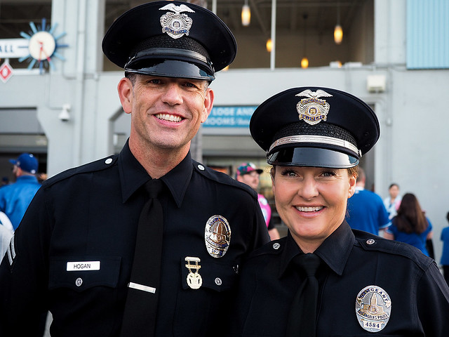 Two of LAPD's finest