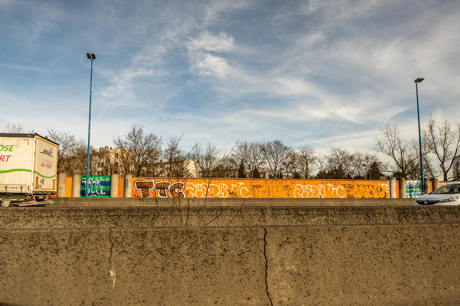 graffiti toulouse périphérique