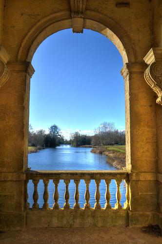 buckinghamshire stowelandscapegardens octagonlakestowe palladianbridgestowe georgianarchitecture nationaltrust