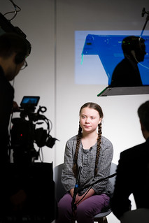 Greta Thunberg | by World Economic Forum