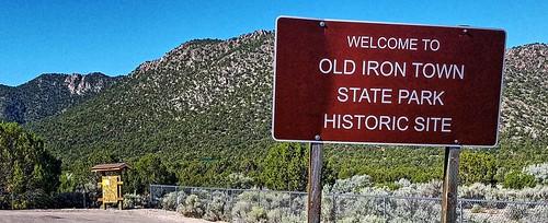 utah ironcounty irontown oldirontown statepark nationalregister nationalregisterofhistoricplaces sign