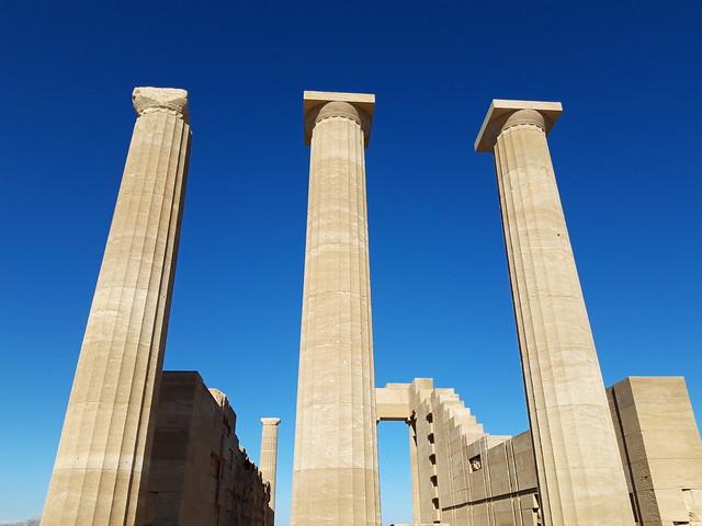 Temple of Athena Lindia_Lindos acropolis_20181025_152622