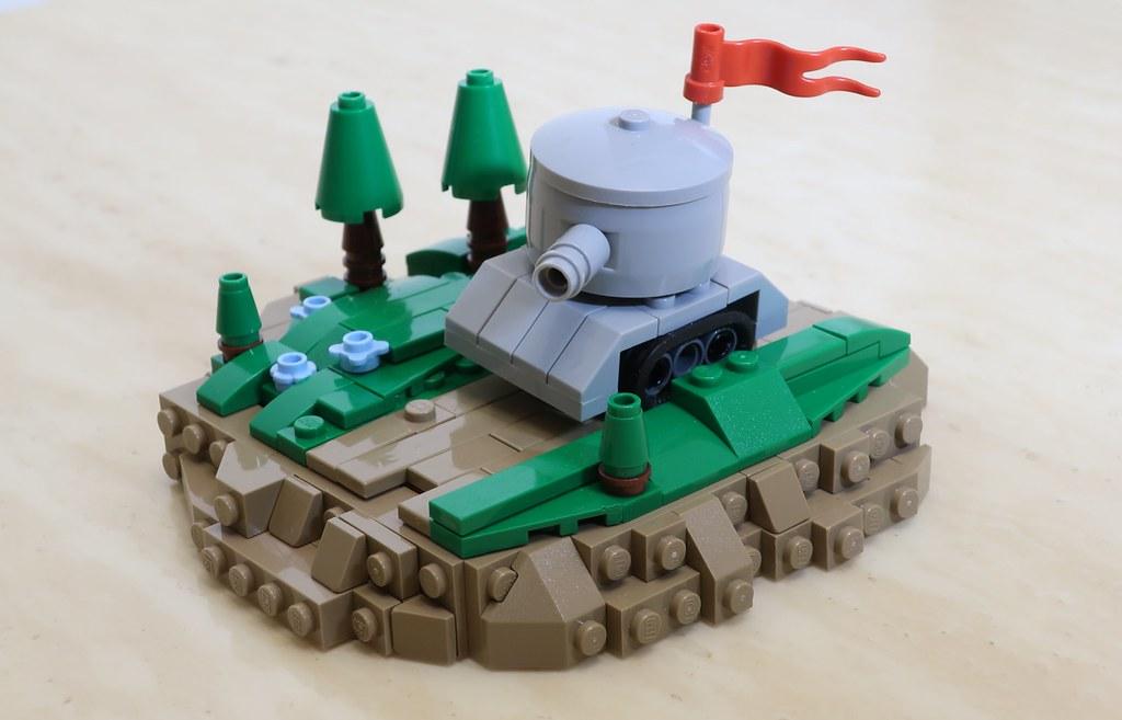 Tankie #lego #moc #legophotography #legocreation   #legolife #legobuilder #army #tank