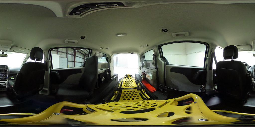 Dodge Van - Paratransit Stretcher Accessible Van