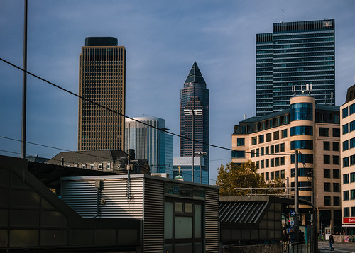 Frankfurt skyline | by Мaistora