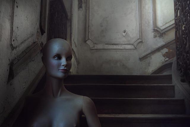 Derelict mansions always have a secret